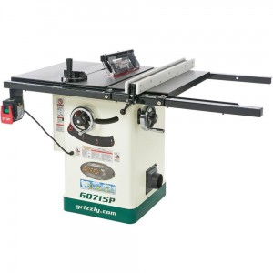 Grizzly G0715P Polar Bear Series Hybrid Table Saw with Riving Knife