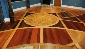 different types of wood used for hardwood floor
