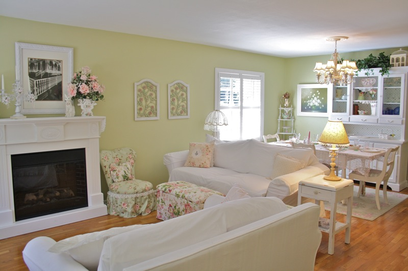 Beautiful Shabby Chic Living Room Ideas Decorating Ideas