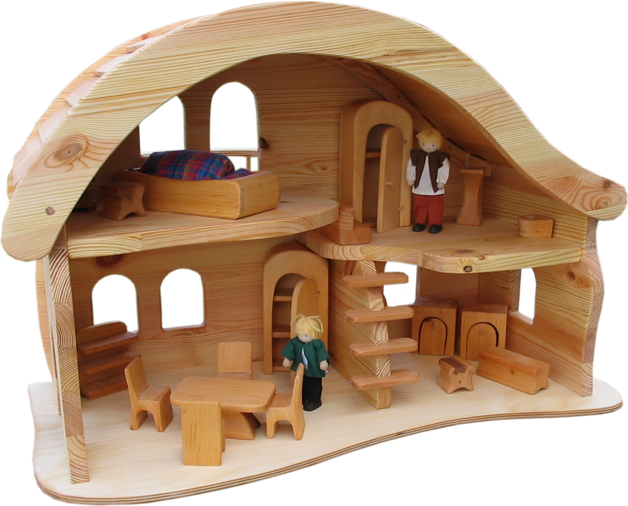 Wood doll house pdf woodworking Wooden homes to build