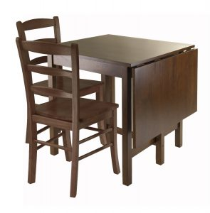rectangular drop leaf dining table