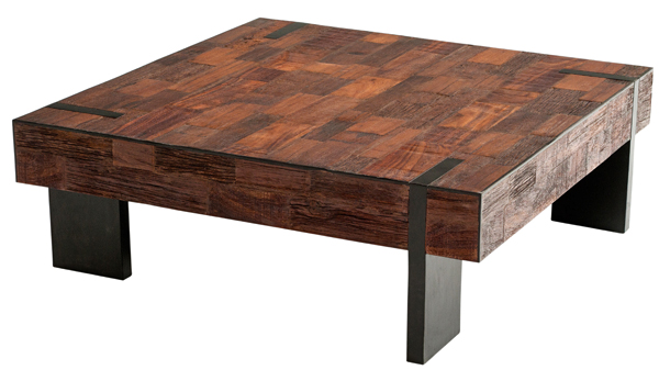 How to Make a Reclaimed Wood Coffee Table - The Basic Woodworking