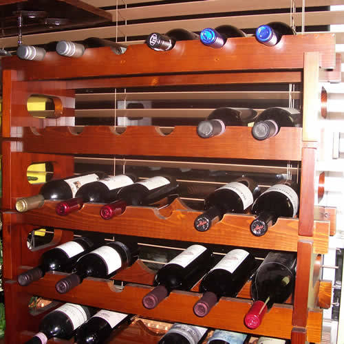 5 Free Wine Rack Plans - The Basic Woodworking