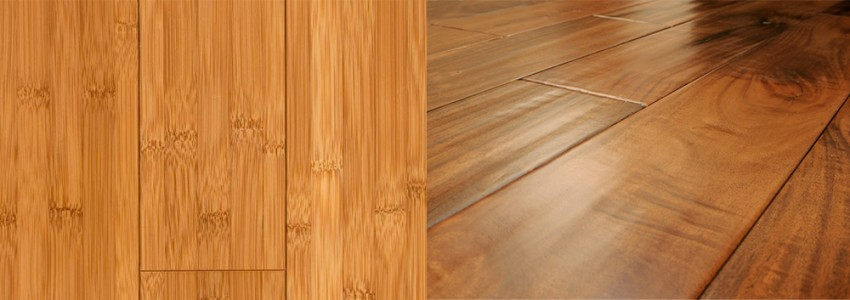 Bamboo vs Hardwood flooring