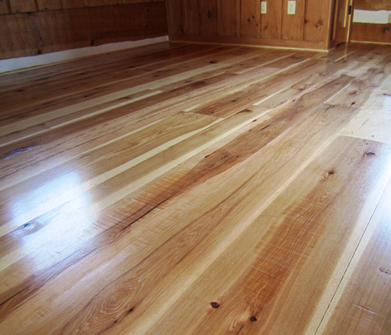 Hickory flooring pros and cons the basic woodworking for Hardwood floors hickory