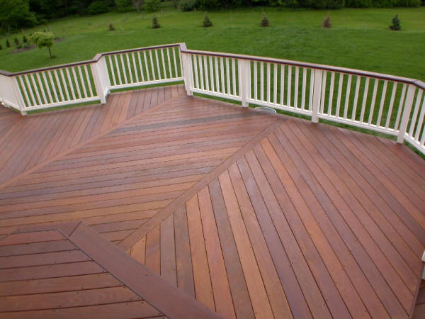 Things you should know before installing ipe wood deck for Wood deck designs pictures
