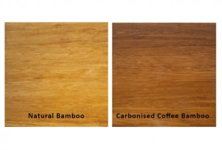 natural vs carbonised bamboo flooring