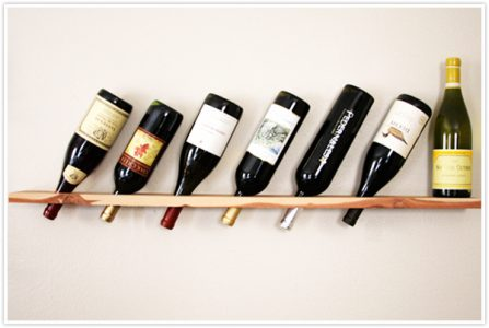 winerack from planks