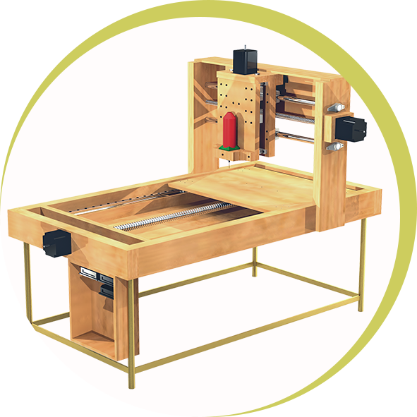 How To Build Your Own CNC Router - The Basic Woodworking