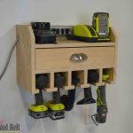 cordless drill organizer